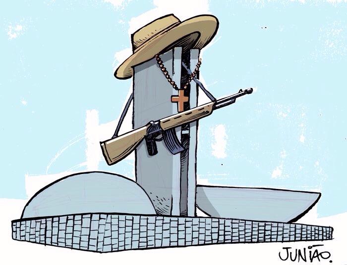 bancada da bala