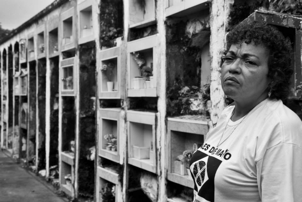 Débora Maria da Silva, do movimento Mães de Maio