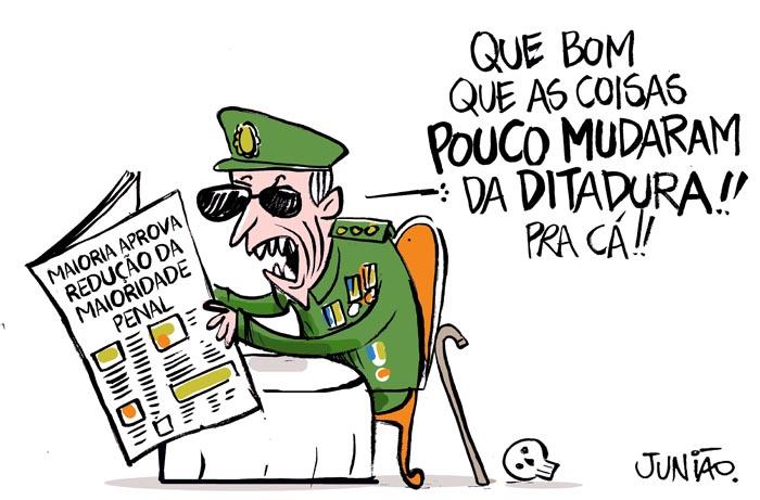 Charge_Ponte_Juniao_Maioridade_Penal_Vera_Malaguti