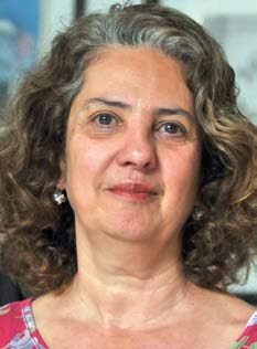 Professora Ana Flávia D'Oliveira. Foto: Daniel Garcia/Revista Adusp