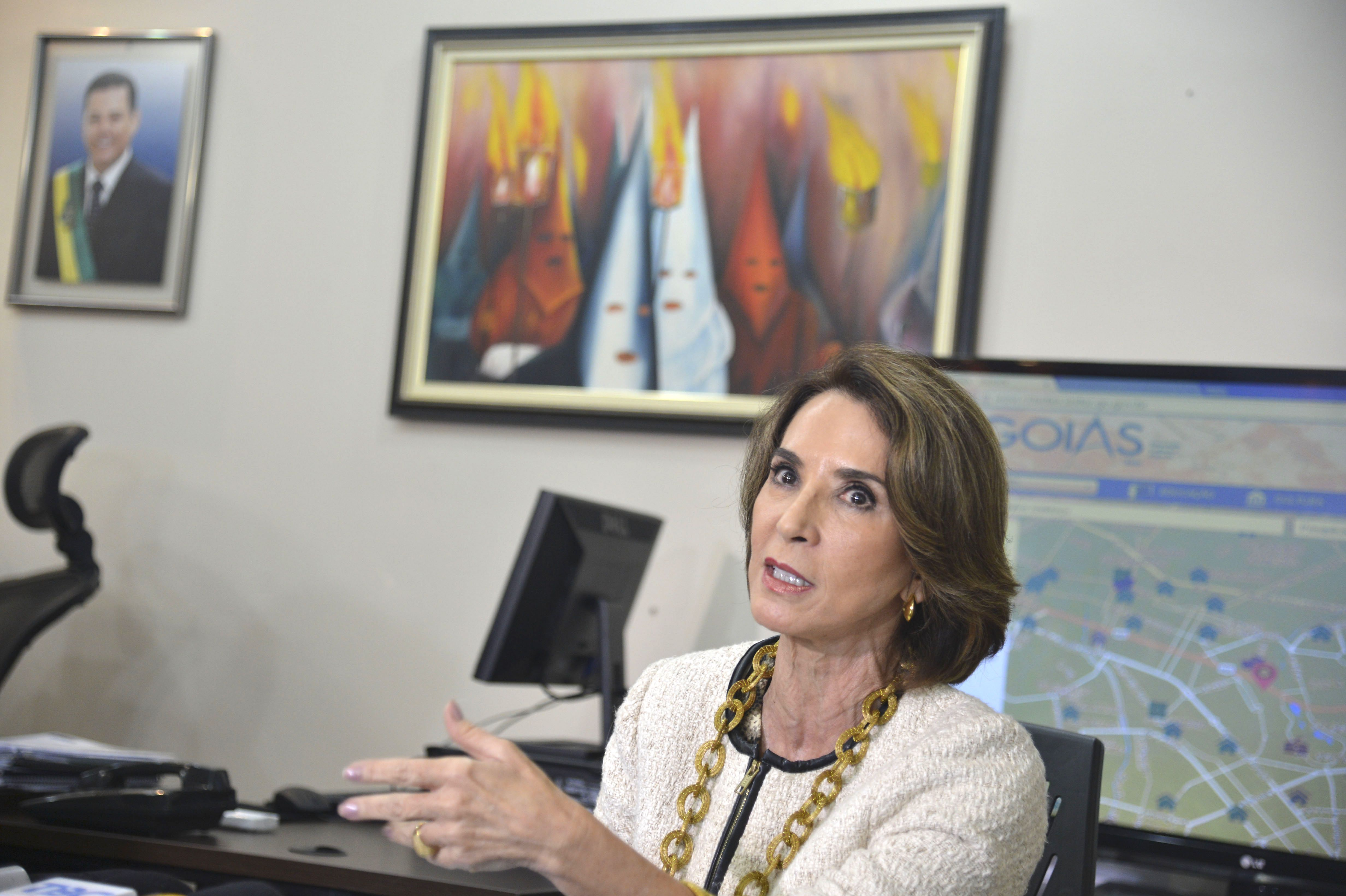 A secretária de Educação de Goiás, Raquel Teixeira. Foto: Valter Campanato/Agência Brasil