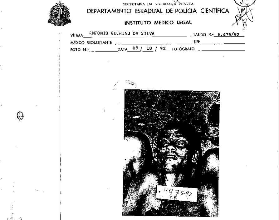 Antonio Quirino da Silva, pai de Fernanda Vicente da Silva. A filha acionou Ivan Sartori judicialmente