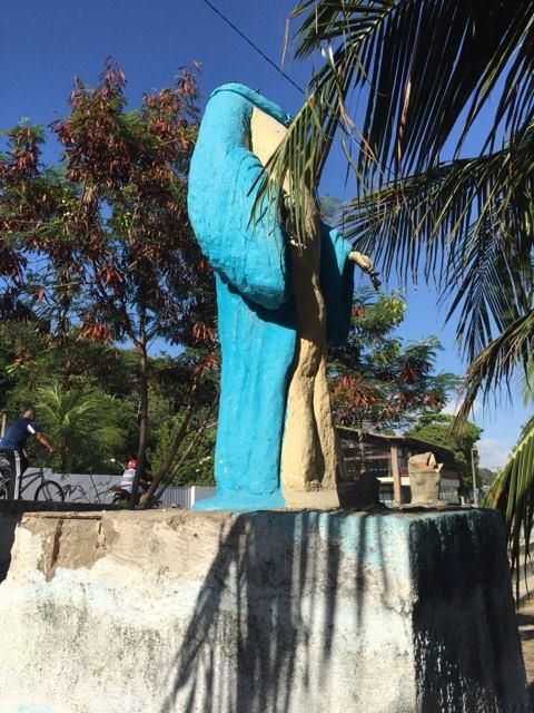 Estátua de Iemanjá, Praia do Cabo Branco, outubro/2016