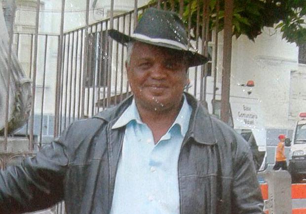 Ambulante Luís Carlos Ruas tinha 54 anos e foi morto na noite de natal dentro do Metrô de SP - Foto: Arquivo Pessoal