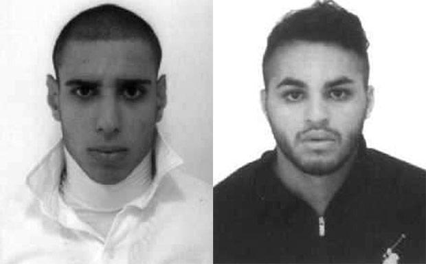 Alípio Rogério Belo dos Santos, de 26 anos, e Ricardo Martins do Nascimento, de 21, suspeitos de matarem Luiz Carlos Ruas, de 54, em estação de metrô - Foto: Divulgação