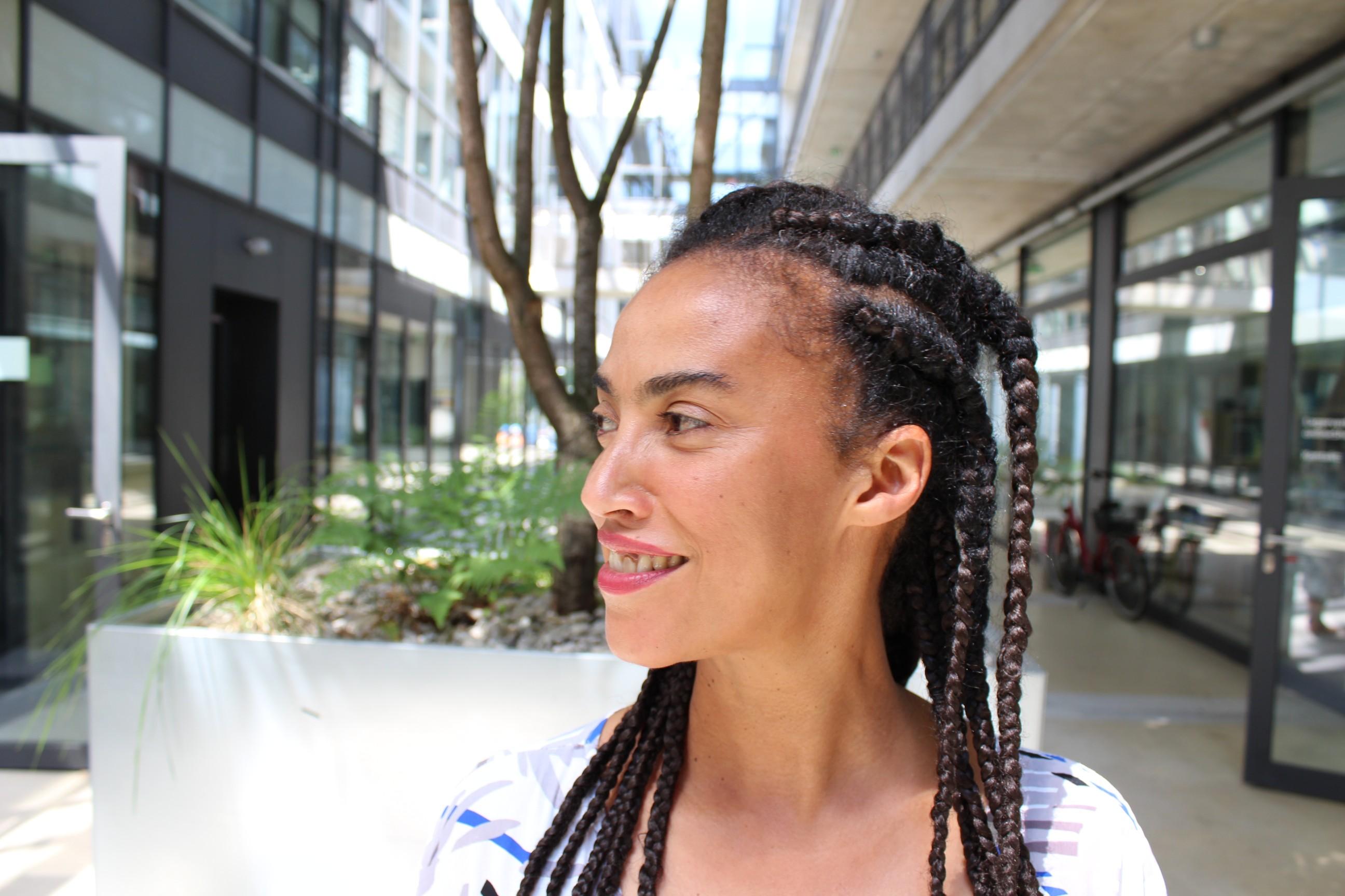 A escitora e artista Grada Kilomba. Foto: Moses Leo