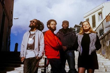 Rael, Emicida, Valete e Capicua estão juntos no álbum Língua Franca / Vera Marmelo (Divulgação)
