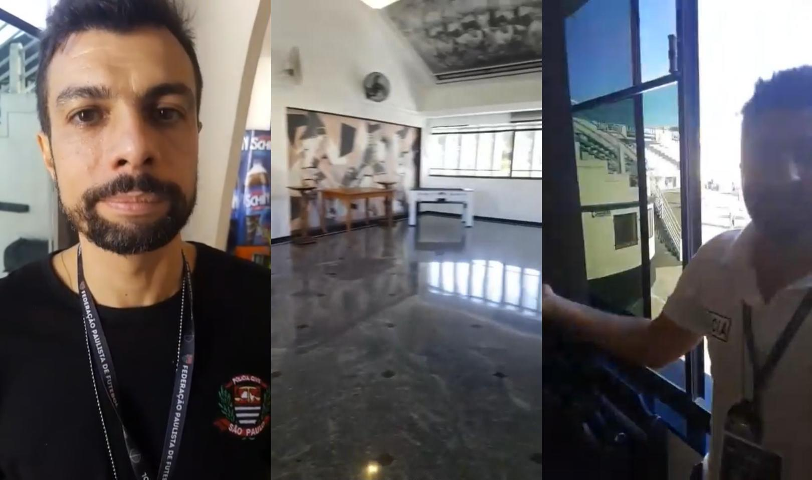 Sala De Trofeus Da Ponte Preta.Policiais Civis Zombam Da Sala De Trofeus Da Ponte Preta E