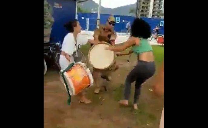 PM do Paraná reprime ensaio de grupo de maracatu formado por mulheres