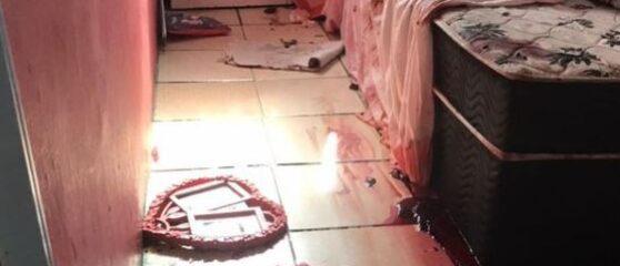 Cena do massacre do Jacarezinho