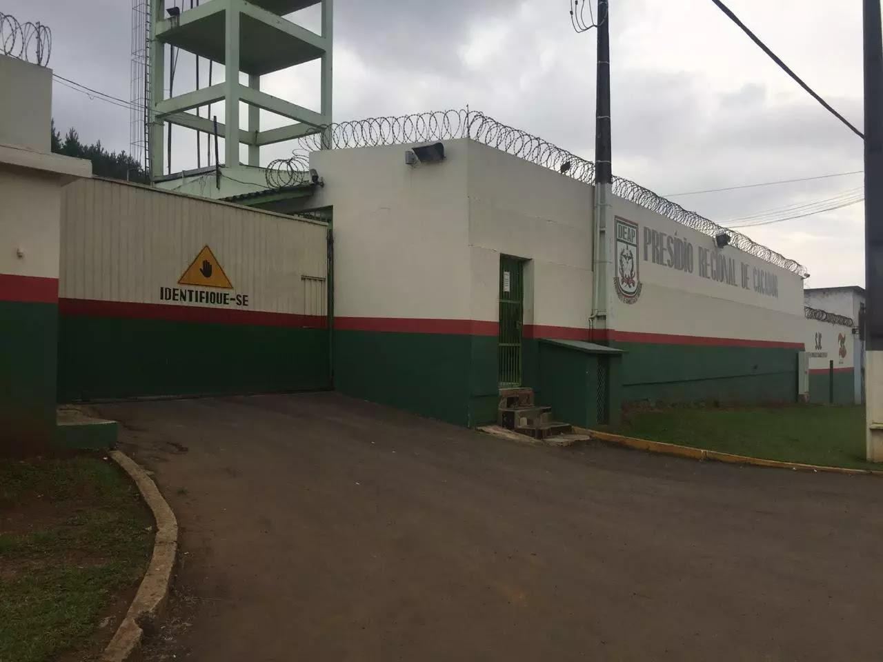 Foto do Presídio em Caçador, Santa Catarina